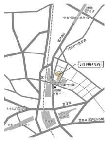 渋谷キャスト地図20170331
