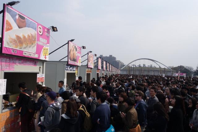 餃子フェス駒沢2017春の様子1_20170321