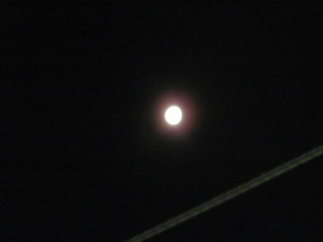明るいお月さま20170316未明