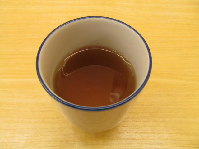 松屋の温かいお茶20170307