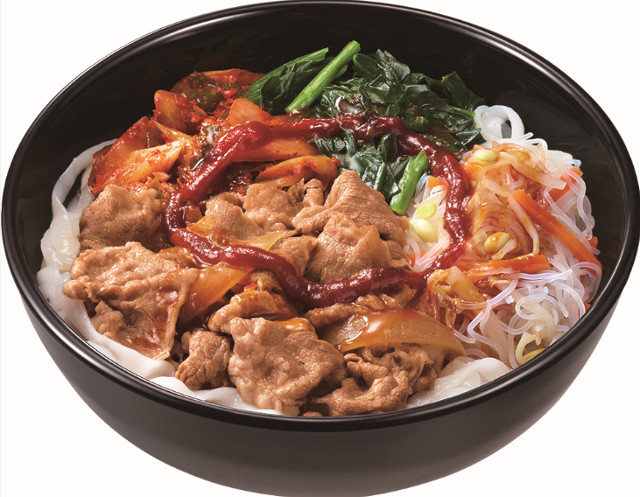 すき家ロカボ牛ビビン麺商品画像20170328