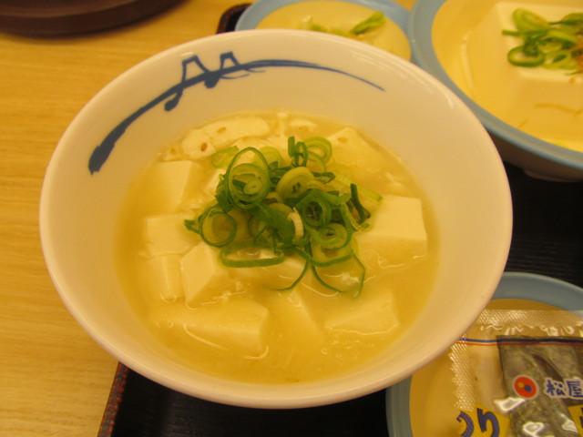 松屋湯豆腐20170307