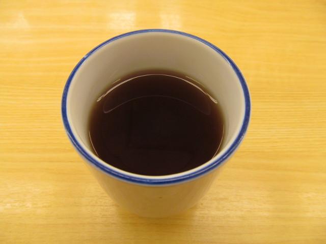 松屋の温かいお茶20170321