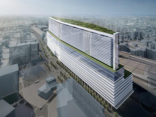 名鉄名古屋駅地区再開発建物イメージ20170330