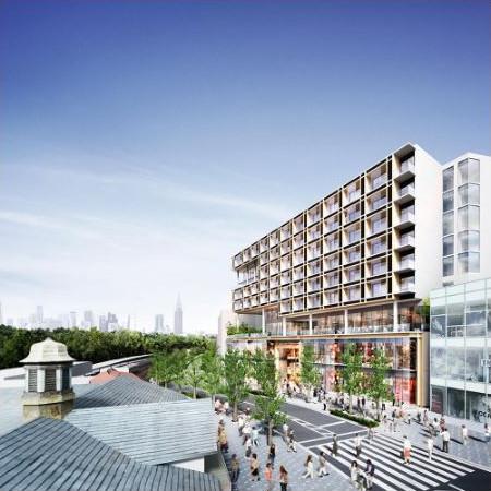原宿駅前に10階建て複合施設開発着手サムネイル20170306