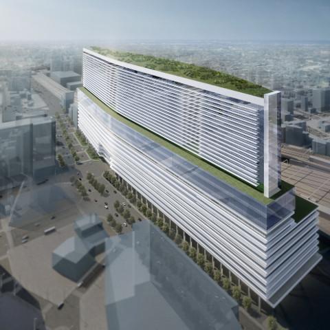 名鉄名古屋駅地区再開発全体概要サムネイル