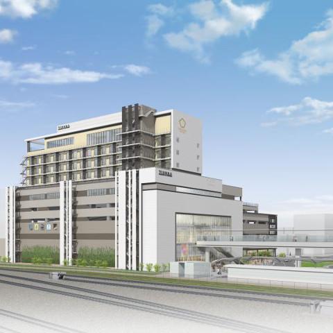 JR岸辺駅ビル仮称2018年秋開業予定サムネイル