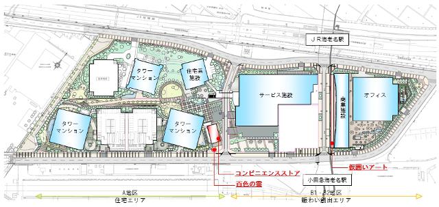 ビナガーデンズ開発計画位置図20170415