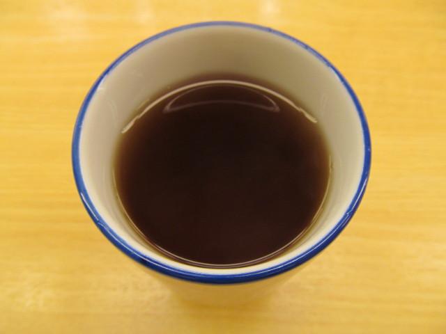 松屋の温かいお茶20170411