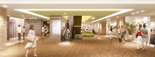 JRさいたま新都心ビル商業ゾーン内観イメージ20170423