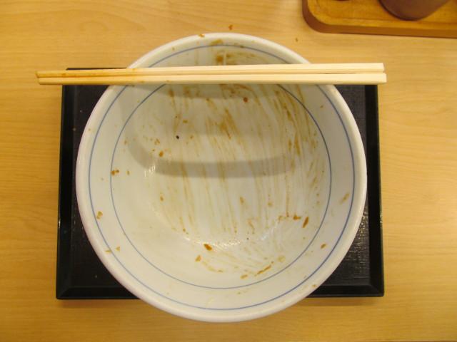 かつやガツ盛り野菜のチキンカツ丼大盛を完食