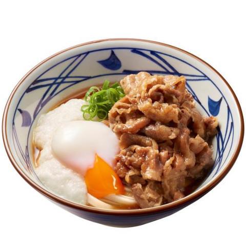 丸亀製麺牛とろ玉うどん販売開始サムネイル