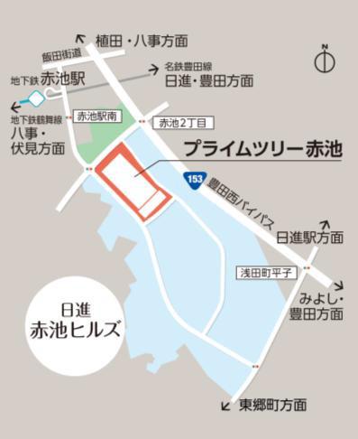 日進赤池ヒルズ地図20170419