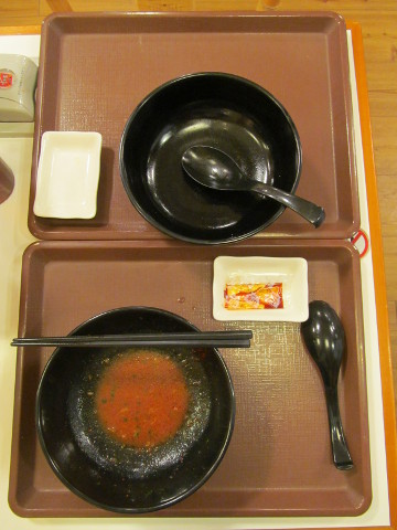 すき家ロカボ麺2杯完食20170405