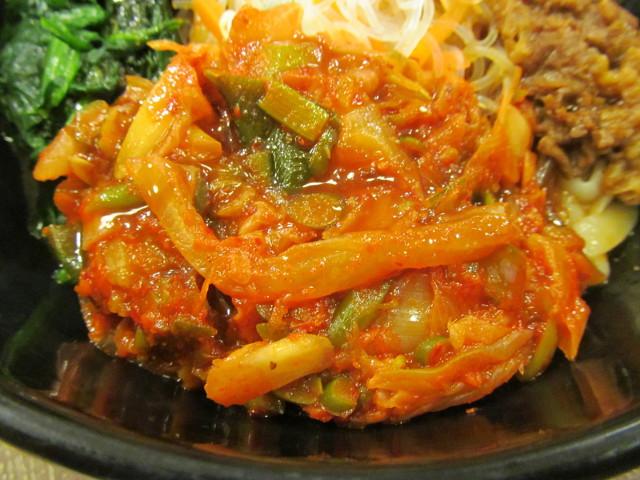 すき家ロカボ牛ビビン麺のねぎキムチ