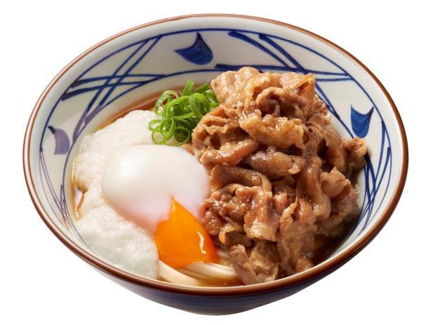 丸亀製麺牛とろ玉うどん商品画像20170418