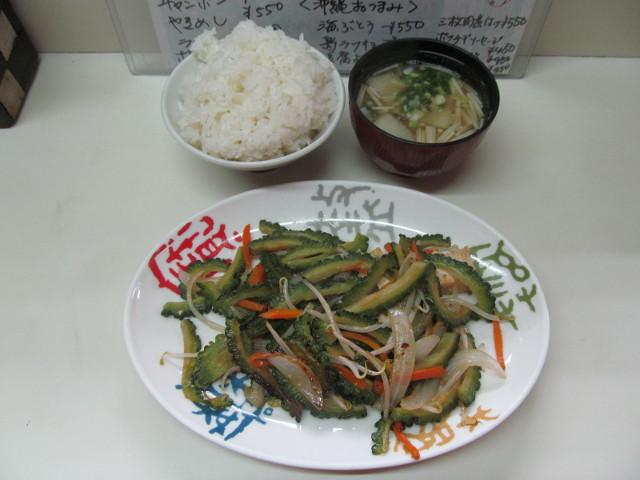 大福ゴーヤーチャンプル一式20170508