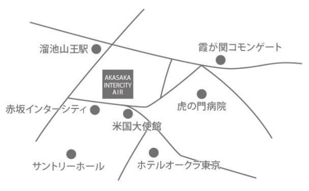 赤坂インターシティAIR地図20170523