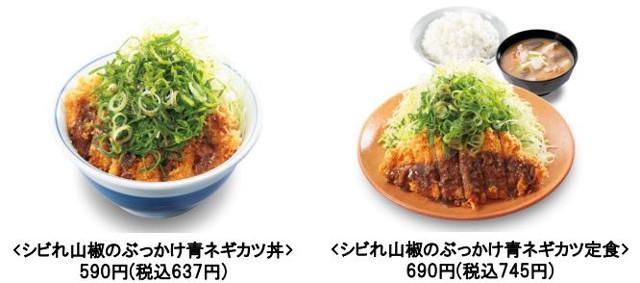 かつやシビれ山椒のぶっかけ青ネギカツ丼商品画像20170526