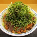 かつやシビれ山椒のぶっかけ青ネギカツ丼ご飯大盛賞味サムネイル