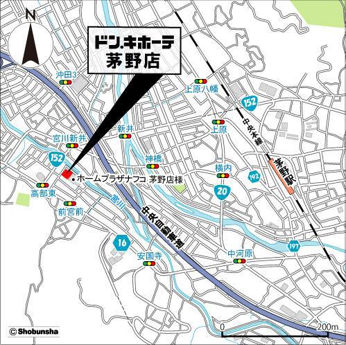 ドンキホーテ茅野店地図