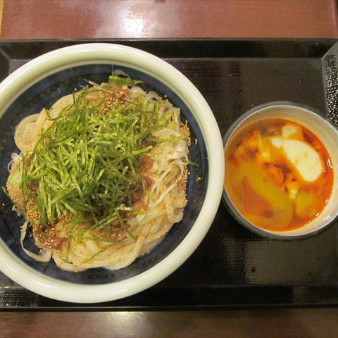 丸亀製麺旨辛肉つけうどん大賞味サムネイル
