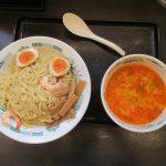 日高屋エビ辛とんこつつけ麺麺大盛賞味サムネイル