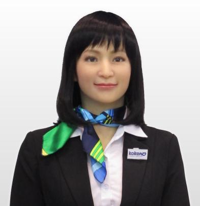人体型ロボットアクトロイド20170719
