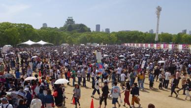 餃子フェスOSAKA2017の様子20170728