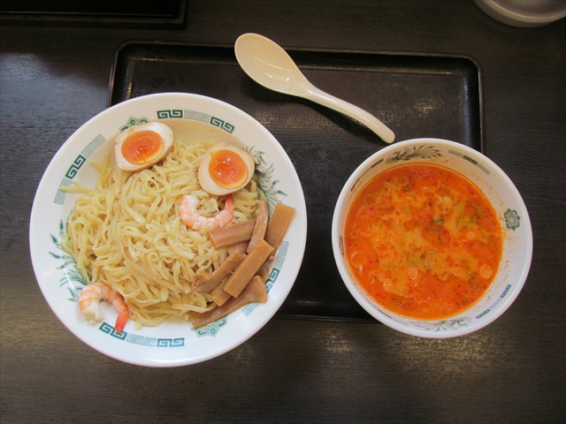 hidakaya_shrimp_spicy_tonkotsu_tsukemen_20170718_016
