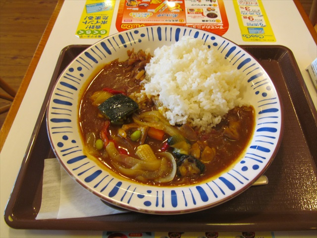 sukiya_spicy_chicken_curry_with_colored_vegetables_20170705_011