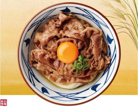 丸亀製麺牛すき釜玉ポスターから切り抜き20170829