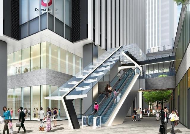 グローバルゲート建物東側入口イメージ20170807
