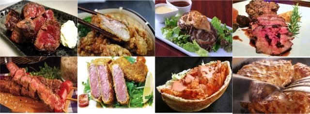 肉フェス大阪泉州夏祭り2017肉料理コラージュ20170807