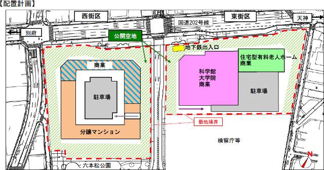 六本松地区配置計画20170803