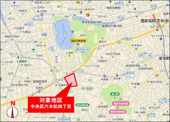 六本松421広域地図20170803