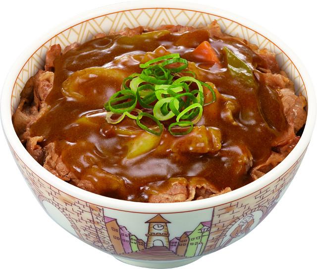 すき家カレー南蛮牛丼2017商品画像20170920