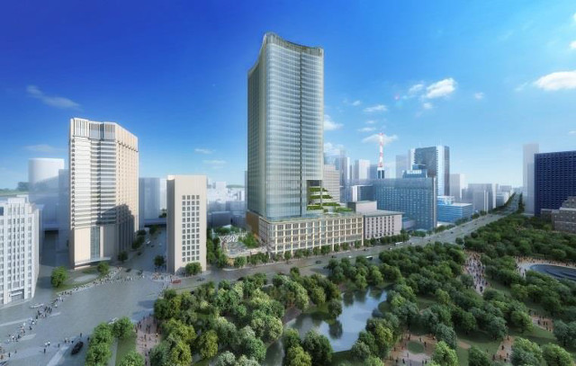 東京ミッドタウン日比谷外観イメージ20170904