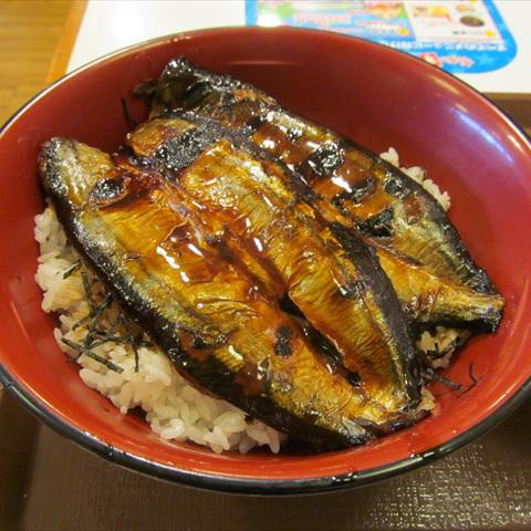 すき家さんま蒲焼き丼特盛賞味サムネイル