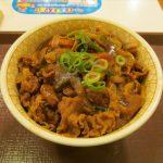 すき家カレー南蛮牛丼2017年ver特盛賞味サムネイル