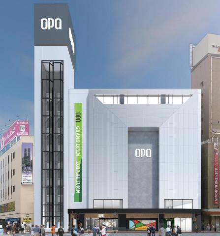 秋田オーパ外観イメージ20170928