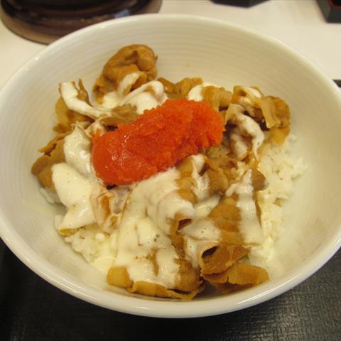 吉野家明太クリームマヨ豚丼賞味サムネイル