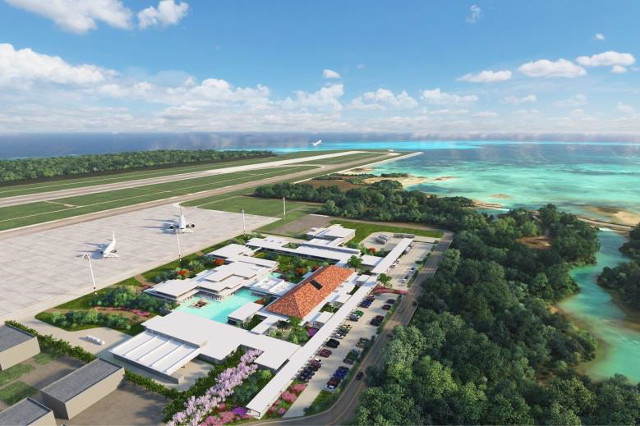 下地島空港鳥瞰写真20171012