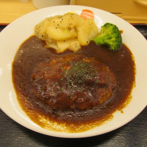 松屋北欧風シチューハンバーグ定食2017大盛賞味サムネイル