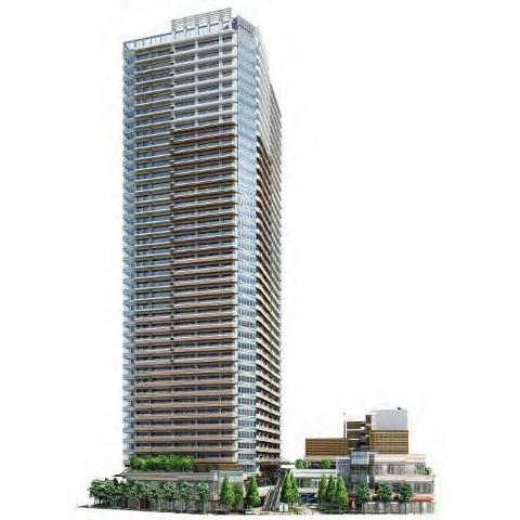 パークシティ武蔵小山ザタワー2020年1月上旬竣工予定サムネイル