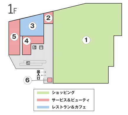 フレスポ舞子坂1階フロアマップ20171125