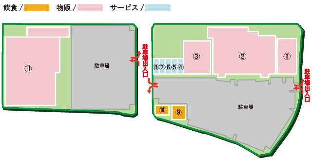 フォレストモール仙台茂庭フロアマップ20171115