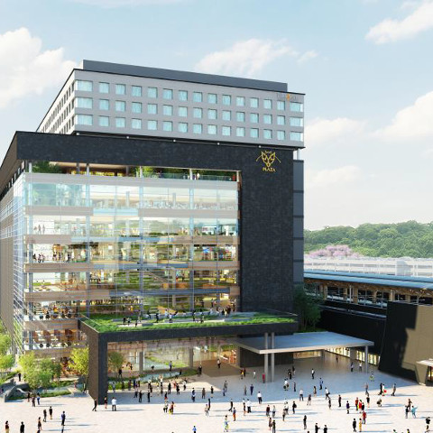 熊本駅ビル2021年春開業予定サムネイル