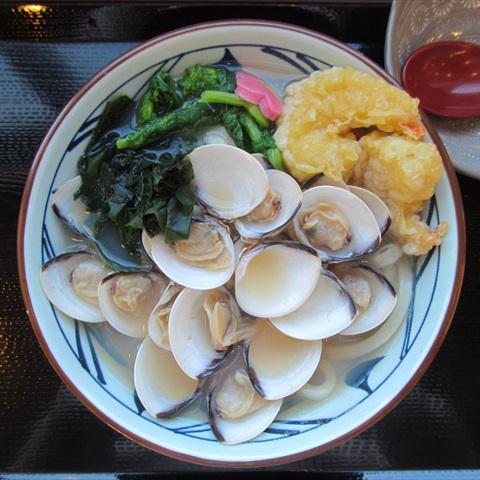 丸亀製麺はまぐりうどん大2017賞味サムネイル