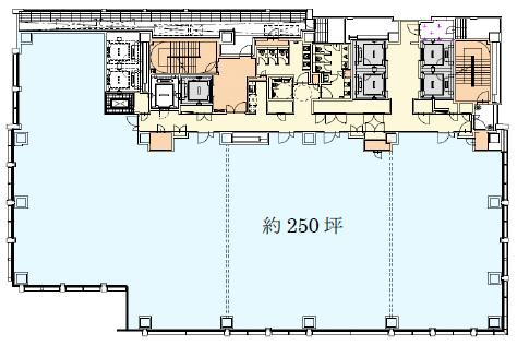 北青山二丁目計画仮称オフィス基準階イメージ20171212